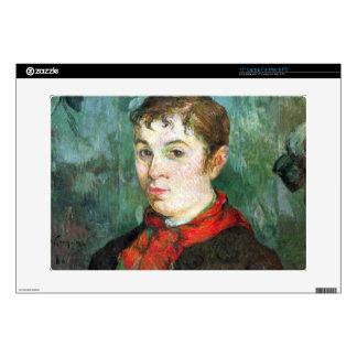 "Eugène Henri Paul Gauguin - Landlords Daughter Decal For 15"" Laptop"