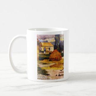 Eugène Henri Paul Gauguin - Landscape Arles Classic White Coffee Mug