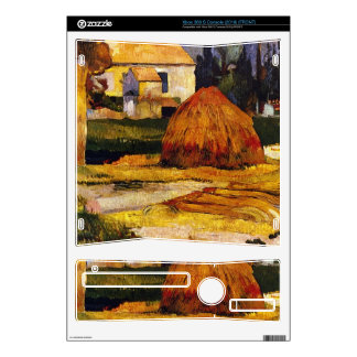 Eugène Henri Paul Gauguin - Landscape Arles Skins For Xbox 360 S