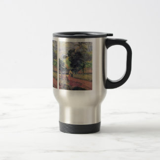 Eugène Henri Paul Gauguin - Landscape 15 Oz Stainless Steel Travel Mug