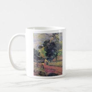 Eugène Henri Paul Gauguin - Landscape Classic White Coffee Mug