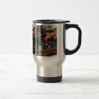 Eugène Henri Paul Gauguin - Landscape With Peacock 15 Oz Stainless Steel Travel Mug