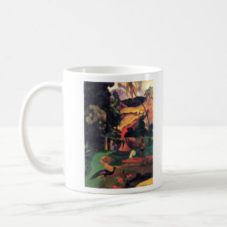 Eugène Henri Paul Gauguin - Landscape With Peacock Classic White Coffee Mug