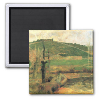 Eugène Henri Paul Gauguin - Look at Sainte Marguer Fridge Magnets