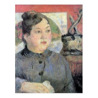 Eugène Henri Paul Gauguin - Madame Kohler Postcard