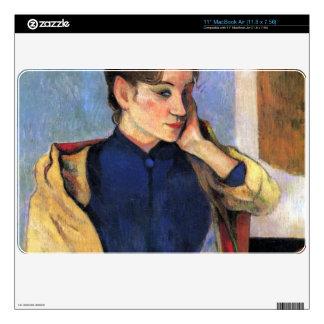 Eugène Henri Paul Gauguin - Madeleine Bernard MacBook Air Decal