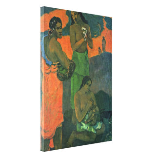Eugene Henri Paul Gauguin - Maternity Gallery Wrapped Canvas