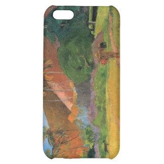 Eugène Henri Paul Gauguin - Mountains in Tahiti Case For iPhone 5C