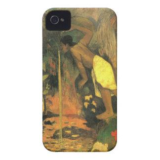 Eugène Henri Paul Gauguin - Mysterious Source iPhone 4 Case