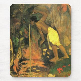 Eugène Henri Paul Gauguin - Mysterious Source Mouse Pad