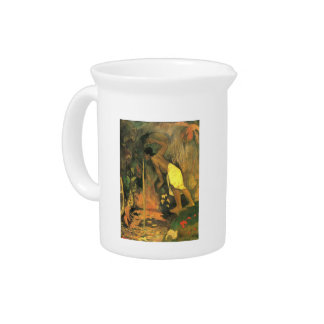 Eugène Henri Paul Gauguin - Mysterious Source Pitchers