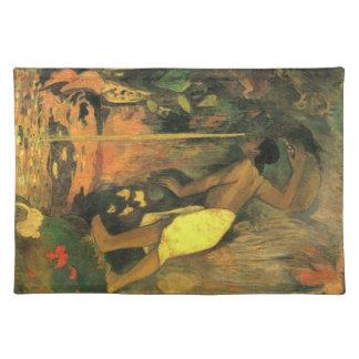 Eugène Henri Paul Gauguin - Mysterious Source Cloth Place Mat