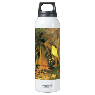 Eugène Henri Paul Gauguin - Mysterious Source 16 Oz Insulated SIGG Thermos Water Bottle