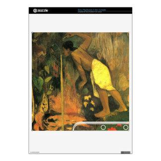 Eugène Henri Paul Gauguin - Mysterious Source Decal For PS3 Slim