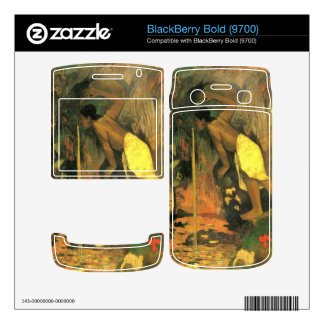 Eugène Henri Paul Gauguin - Mysterious Source BlackBerry Bold Decal