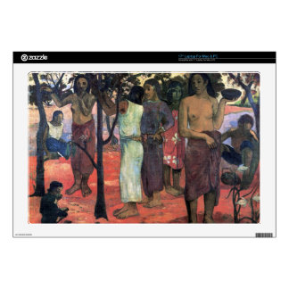 "Eugène Henri Paul Gauguin - Nava Nava Mehana Decals For 17"" Laptops"