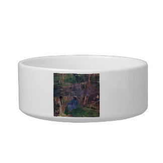 Eugène Henri Paul Gauguin - Pond Shore Cat Water Bowl