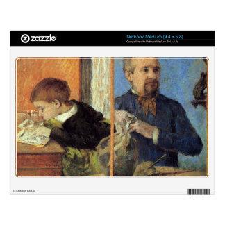 Eugène Henri Paul Gauguin - Portrait of Sculptor w Netbook Decal