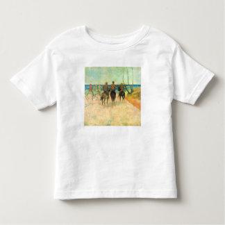 Eugène Henri Paul Gauguin - Riding on the Beach T-shirt