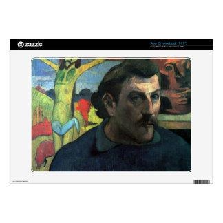 Eugène Henri Paul Gauguin - Self Portrait with Yel Acer Chromebook Skins