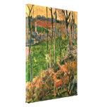 Eugene+Henri+Paul+Gauguin,small+Breton+seaside,Eug Stretched Canvas Prints