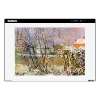 "Eugène Henri Paul Gauguin - Snow in Rue Carcel Decals For 13"" Laptops"