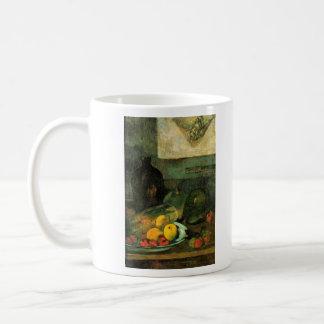 Eugène Henri Paul Gauguin - Still Life in Front of Classic White Coffee Mug