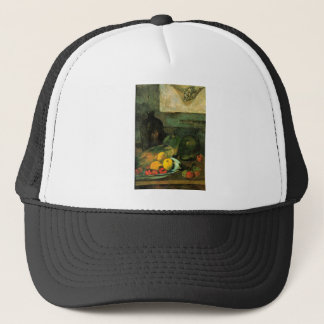 Eugène Henri Paul Gauguin - Still Life in Front of Trucker Hat