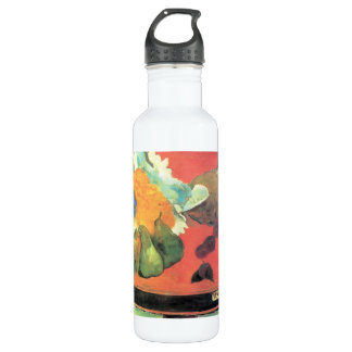 Eugène Henri Paul Gauguin - Still Life with fete Stainless Steel Water Bottle