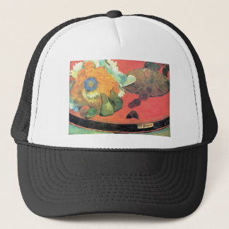 Eugène Henri Paul Gauguin - Still Life with fete Trucker Hat