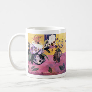 Eugène Henri Paul Gauguin - Still Life with Japane Classic White Coffee Mug