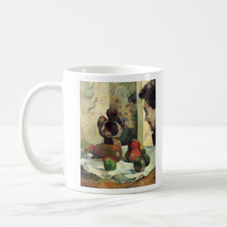 Eugène Henri Paul Gauguin - Still Life with Profil Classic White Coffee Mug