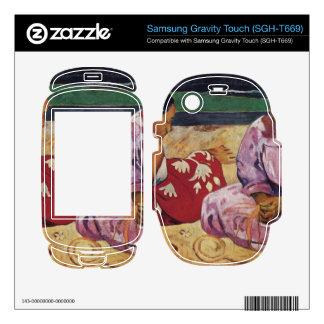 Eugène Henri Paul Gauguin - Tahitian Women on Beac Samsung Gravity Touch Skins