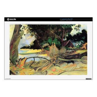 Eugène Henri Paul Gauguin - Te Burao Decals For Laptops