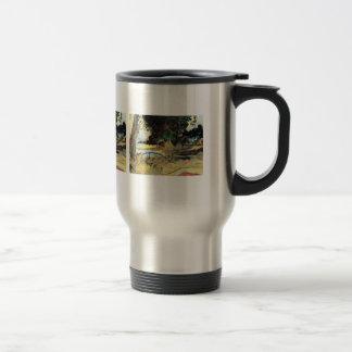 Eugène Henri Paul Gauguin - Te Burao 15 Oz Stainless Steel Travel Mug