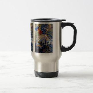 Eugène Henri Paul Gauguin - The White Horse 15 Oz Stainless Steel Travel Mug