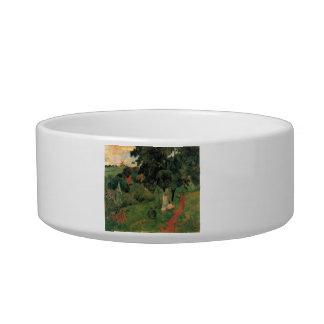 Eugène Henri Paul Gauguin - To and Fro Cat Food Bowls