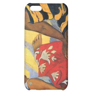 Eugène Henri Paul Gauguin - Two Women From Tahiti iPhone 5C Covers