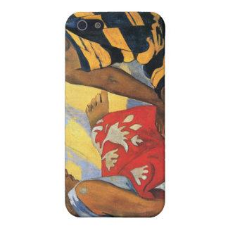 Eugène Henri Paul Gauguin - Two Women From Tahiti Cases For iPhone 5