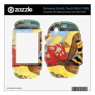 Eugène Henri Paul Gauguin - Two Women From Tahiti Samsung Gravity Touch Skin