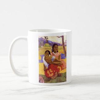 Eugène Henri Paul Gauguin - When are you Getting M Classic White Coffee Mug