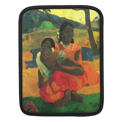 Eugène Henri Paul Gauguin - When You Hear Sleeve For iPads