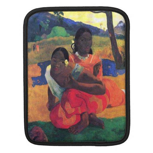 Eugène Henri Paul Gauguin - When You Hear iPad Sleeve