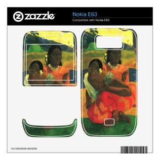 Eugène Henri Paul Gauguin - When You Hear Nokia E63 Decal