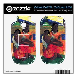 Eugène Henri Paul Gauguin - When You Hear Cricket CAPTR Decal