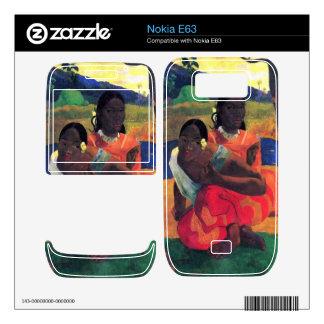 Eugène Henri Paul Gauguin - When You Hear Skins For Nokia E63