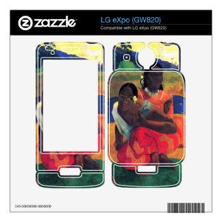 Eugène Henri Paul Gauguin - When You Hear Skin For The LG eXpo