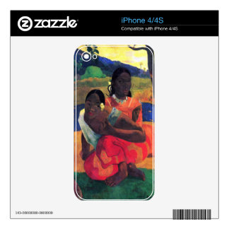 Eugène Henri Paul Gauguin - When You Hear Decals For The iPhone 4S