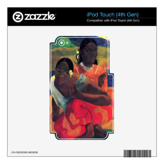 Eugène Henri Paul Gauguin - When You Hear iPod Touch 4G Decals