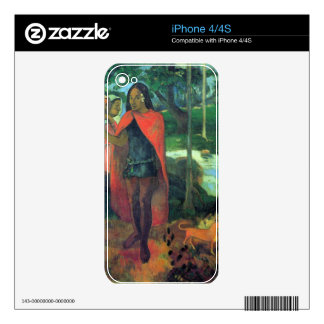 Eugène Henri Paul Gauguin - Wizard of Hiva-Oa Skins For The iPhone 4S